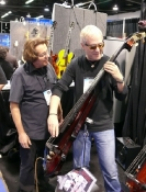 Bunny with Hugh McDonald (Bon Jovi)