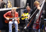 Bunny jamming with Andreas Oberg