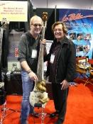 with Bon Jovi's Hugh McDonald